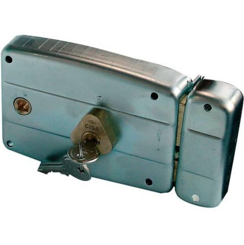 Galvanized lock latch 2 Mandate + 50471 / 60.2 Cisa