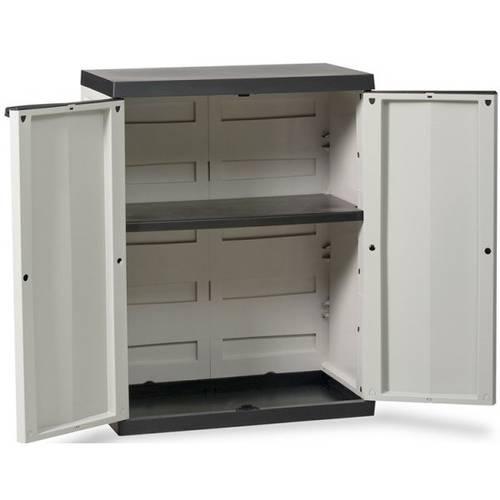 Wardrobe with 2 doors with adjustable shelf Art.200 Goddess Home Plastmeccanica