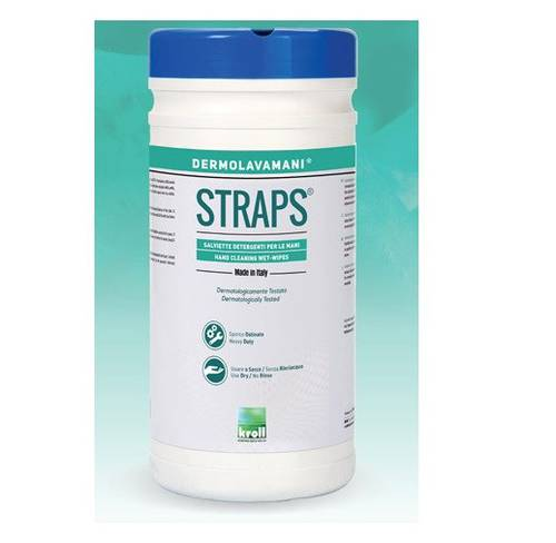 70 Wipes Wipes in Nonwoven Fabric Kroll Straps