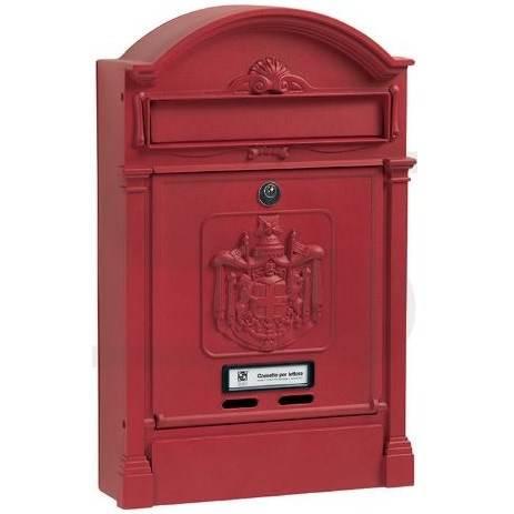 Mailbox Red Directed 10-492.65 Silmec