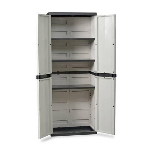 Wardrobe with 2 doors with 3 shelves adjustable art.202 Goddess Home Plastmeccanica