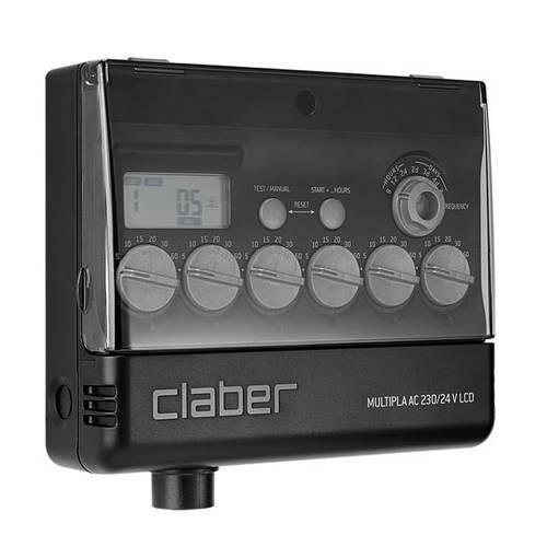Programmatore Multipla AC 230/24 V LCD 8058 Claber