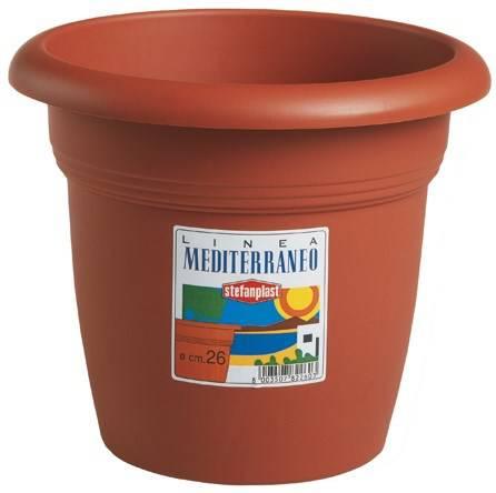 "Vase Plastic ""Mediterranean"" Stefanplast"