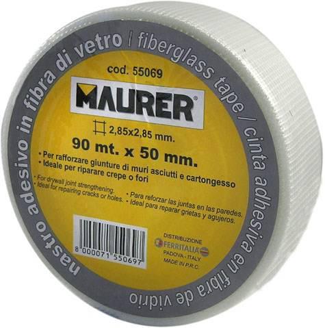 Network Tape Fibreglass mm.50 x 20 mt. 055,070 Maurer