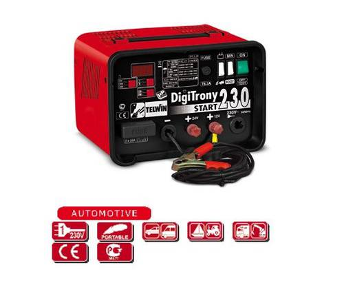 Charger Maintainer Starter Digital Digitrony 230 Start 807 575 Telwin