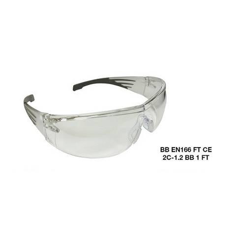 Transparent Barrier Protective Work Glasses 96943 Maurer
