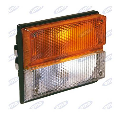 Front Headlight 2 Lights Right and Right Position 188x140mm COBO 03.160.000 Art. 00750 Ama