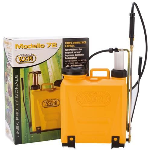 Pump Backpack Weeding UNI 78 15 Liters Volpi 78PUG