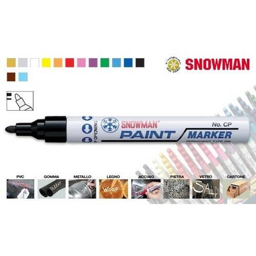Enamel marker SNOWMAN PAINT MARKER - Standard Tip