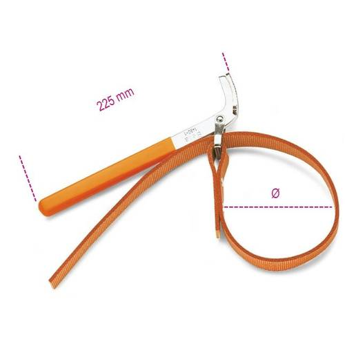 1490/1 Beta Oil Filter Ribbon Wrench