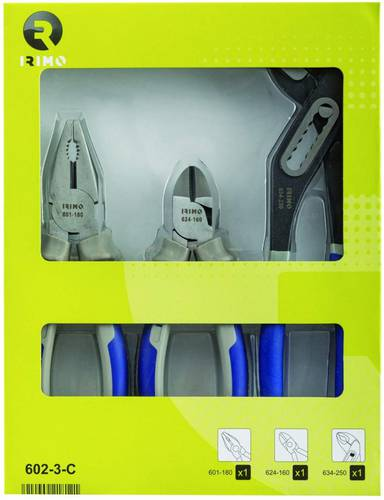 Assortment Set of 3 Irimo Pliers 602-3-C By Bahco