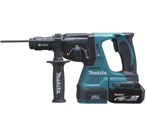 Cordless Drill 18V SDS-Plus 24 mm BL - 3 FUNZ DHR243RTJ Makita