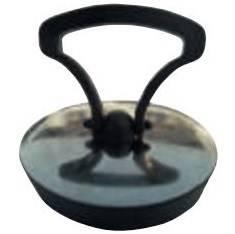 Cap Rubber Black c / plate Inox ø 52 Art.2154