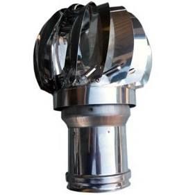 Aspirator Wind Turbine Inox