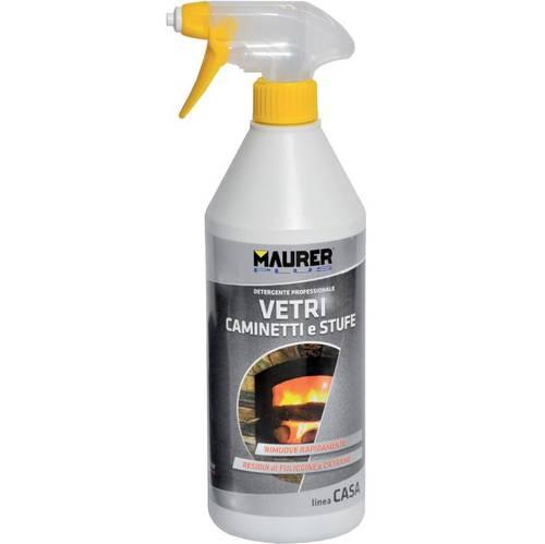 Spray Detergent for Glass Stoves Fireplaces ml.750 094176 Maurer