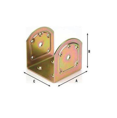 U-Joint Plate for Maurer Inclined Beams