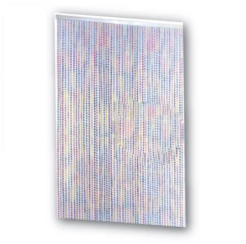 Twister Pvc Multicolour Curtain