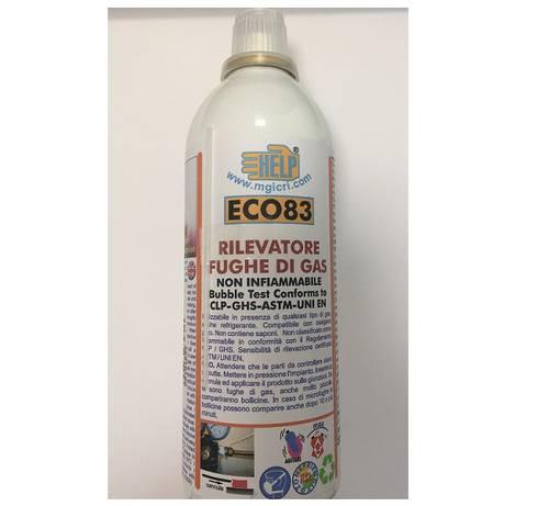 Detects Gas Spray Leak ECO83 300gr HELP