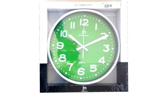 Clock Basic 25x25 Justaminute Lowell