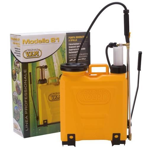 Pump Backpack Weeding UNI 12 Liters Volpi 81PUG