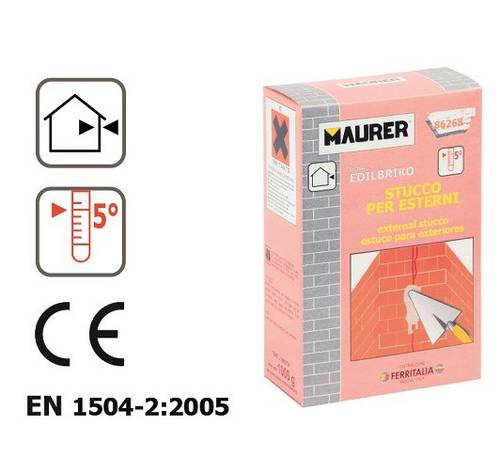 Exterior putty 1 Kg 86268 Maurer