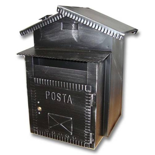 Mailbox Pane Rustica and Mail