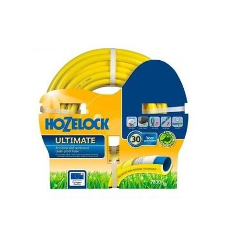 "Garden Rubber Hose for Irrigation Water TRICOFLEX ULTIMATE 5/8 ""Hozelock"