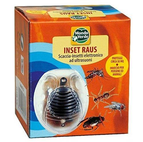 Disaccustomer expels Flying Insects Creeping Ultrasound INSET RAUS Green World