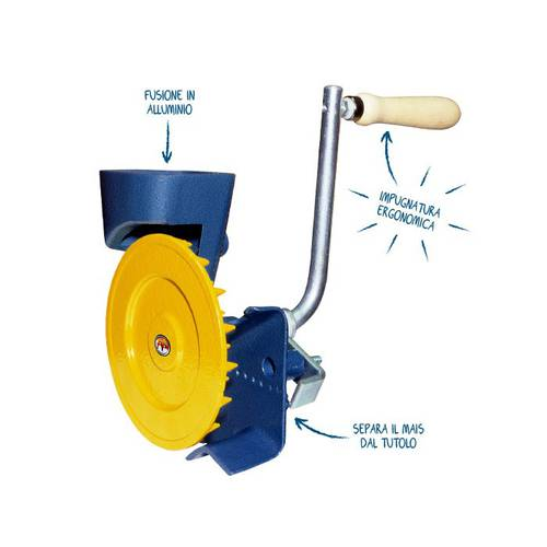 Corn sheller Manual Rhythm Novital