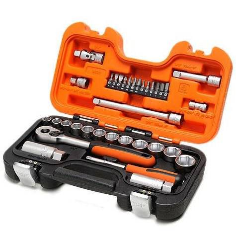 Assortment 34 pieces Socket wrenches Bahco S330