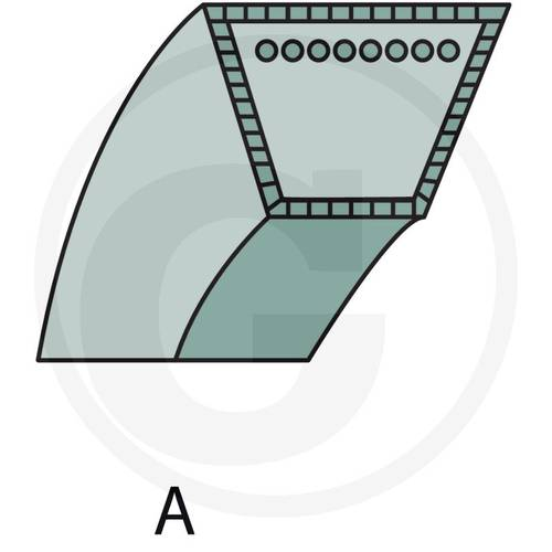 V-Belt Type A 57270035 Granit