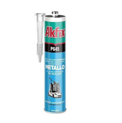 Polyurethane Sealant For Metal Iron Copper Lead Ceramic Glass High Module Dark Brown P645 Akfix