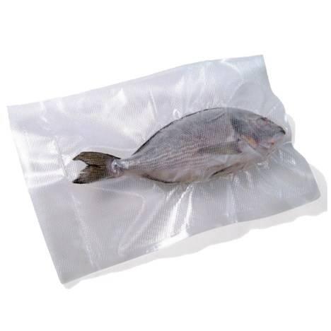 100 Bags for Vacuum Embossed cm.15x25 Reber 6745N