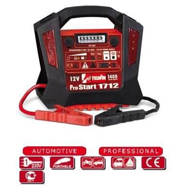 Starter Starter Rechargeable Pro Start 1712 Telwin 829515