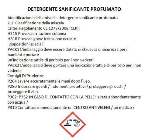 "Detergent for clothing Work ""The LAVATUTE"" 3 Liters Nettuno"