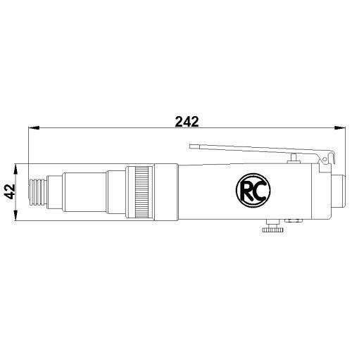 Pneumatic screwdriver Law RC4760 Rodcraft