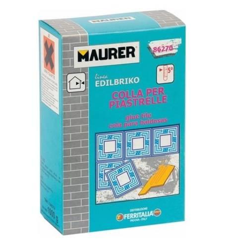 Tile glue 1Kg Edilbriko 86270 Maurer