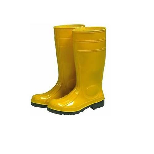 Pvc Yellow Safety Boots
