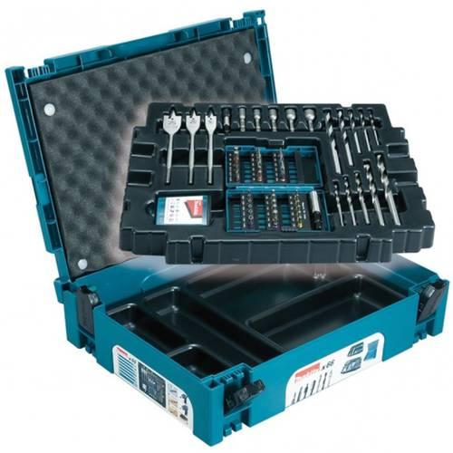 66pz set. Drill bits in case Makpac B-43044 Makita