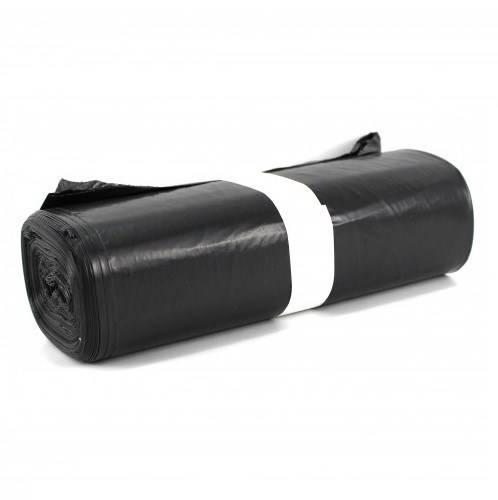 20 Black Bags for Garbage Trash Waste cm.70x110