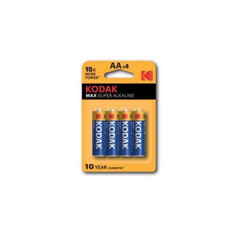 4 x Pile Batterie Stilo AA 1,5V LR6 Alkaline Kodak