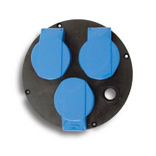 Disk Replacement 3 sockets for cable reel ø145 mm 01911 Fanton