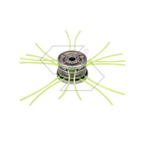 Universal Multiwire Head for Brushcutter TWIN Square Wire 3mm R302003 Sabart