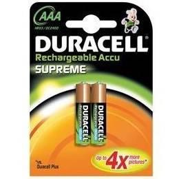 2 Pile Ricaricabili Ministilo AAA 750mAh  Duracell