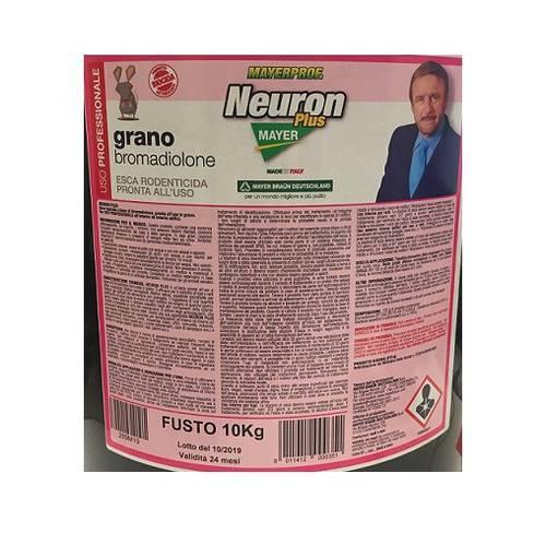 Rodenticide Bait Poison Topic Mice in Neuron Plus Grain 10 Kg Mayer Braun