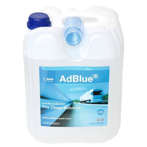 AdBlue Canister with Spout 10 Liters Basf