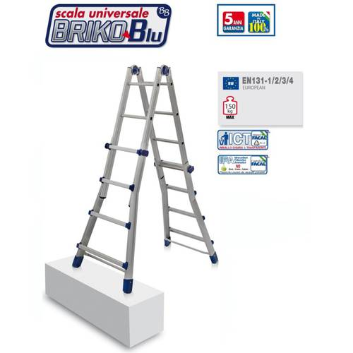 Scala Telescopica Briko Blu BB / 2 Word