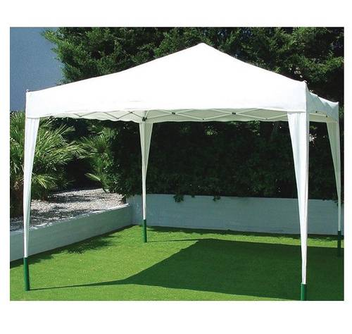 Garden Gazebo in Painted Steel Mod. ALBUFEIRA 3x3 mt Papillon