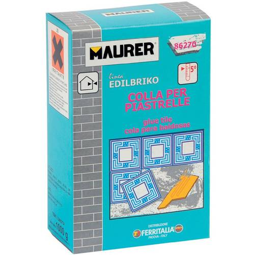 Glue for tiles 5kg Edilbriko Maurer 092721