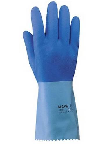 301 Latex gloves slip Jersette Natural 355040 Mapa